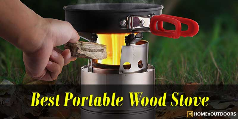 Camping & Hiking Sports & Entertainment Honey Lixada Outdoor Wood Stove Camping Stoves Compact Folding Tableware For Outdoor Camping Cooking Picnic Hiking Bbq Titanium Steel