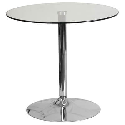 Flash Furniture 31.5'' Round Glass Table