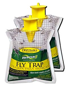 RESCUE! FTD2 Fly Trap 2 Disposable