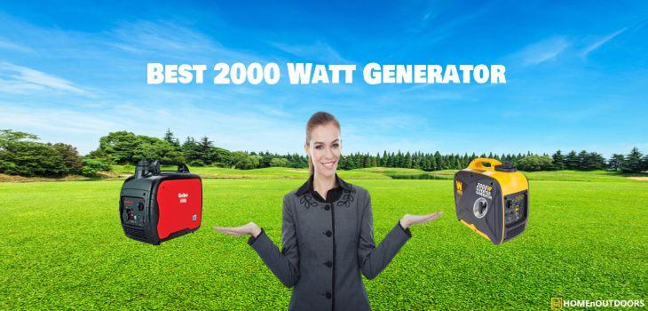 Best 2000 Watt Generator