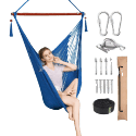 Greenstell Large Caribbean Hammock Hanging Chair with Hanging Kits