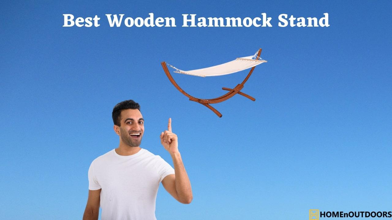 Best Wooden Hammock Stand
