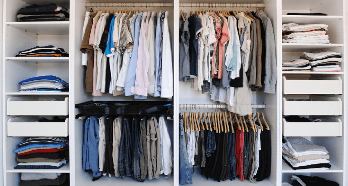 Increase on the closet space