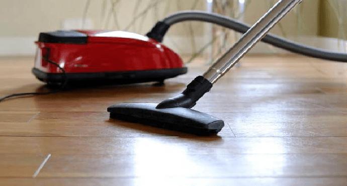 Mop or vacuum the floor
