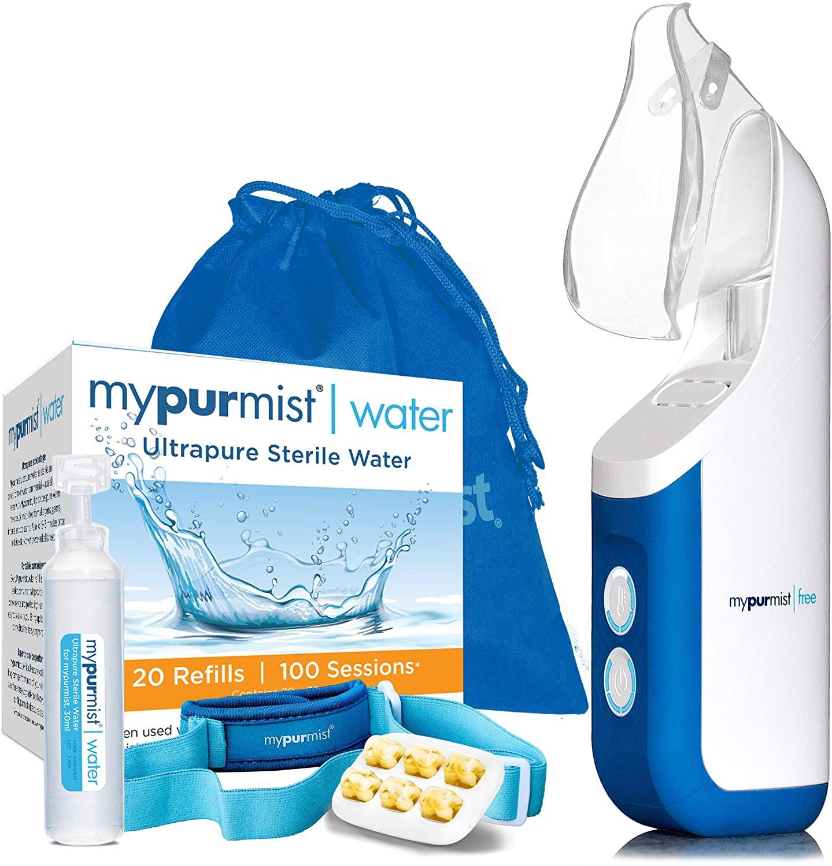 Mypurmist Free Ultrapure Handheld Personal Steam Inhaler