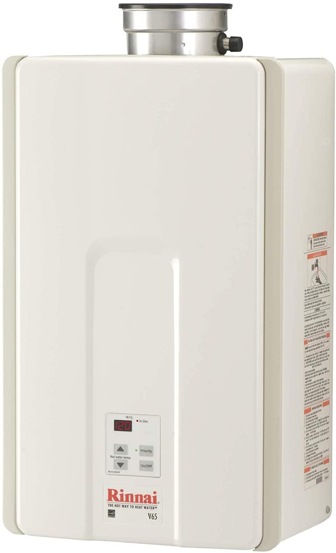 Rinnai V65iP Propane Tankless Hot Water Heater