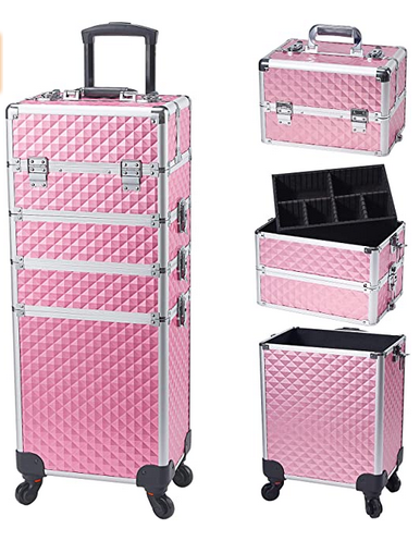 Stagiant Rolling Makeup Train Case