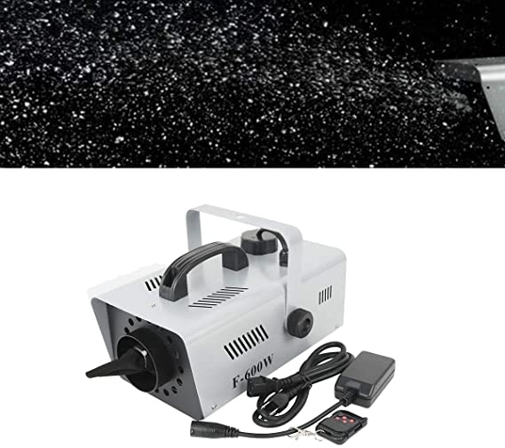 TC-Home 600W Snowflake Flake Effect Stage Show DJ Party Snow Machine